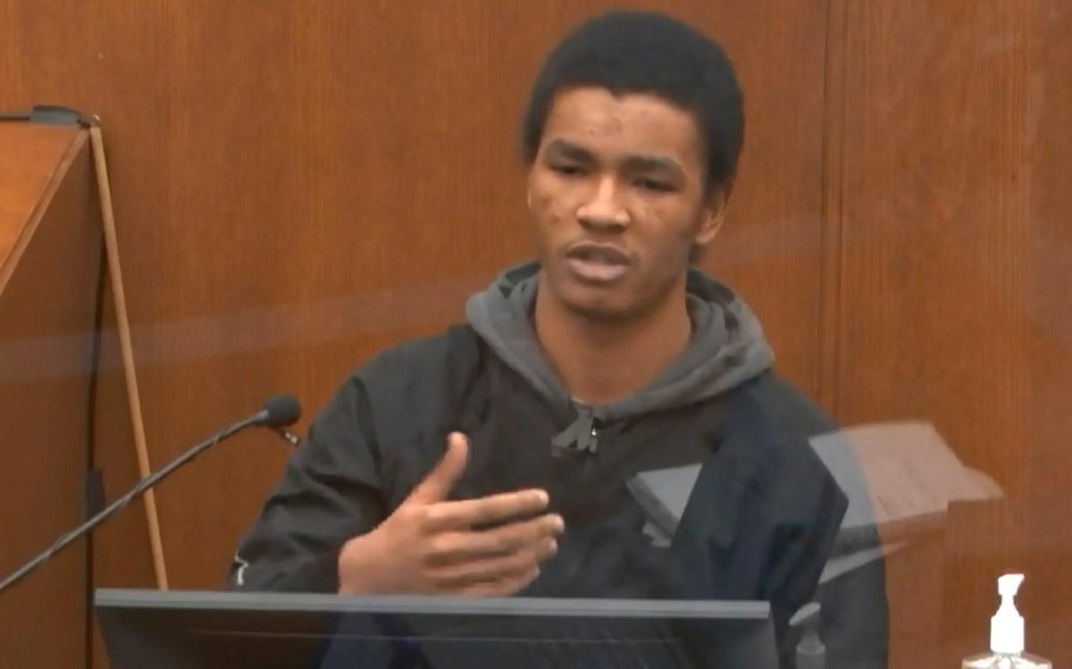 Cashier Christopher Martin testifies