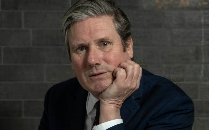 Sir Keir Starmer is today interviewed by Ben Riley-Smith