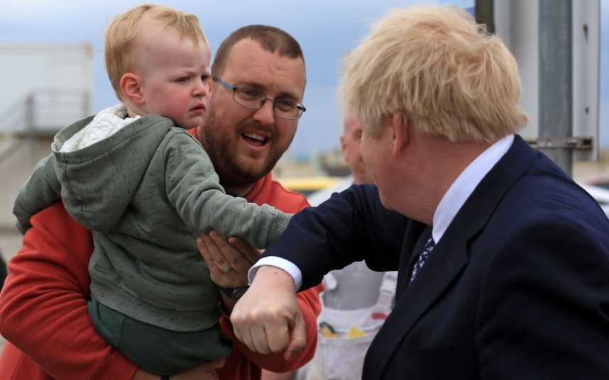 Some of the people Boris Johnson met in Hartlepool yesterday were more enthusiastic than others