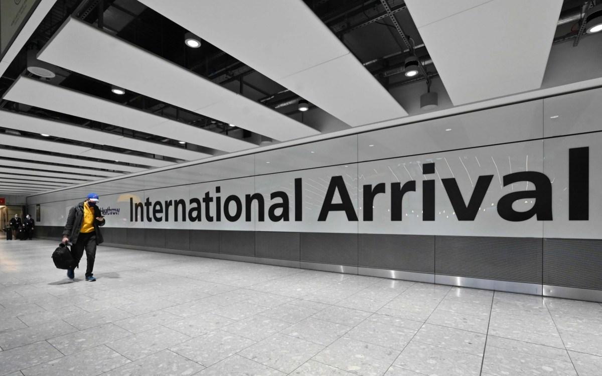 Self-isolation or hotel quarantine awaits all arrivals into England