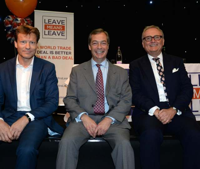 Forget Ukip The Only Way To Rattle The Pro Eu Establishment Is To Back The Brexit Party