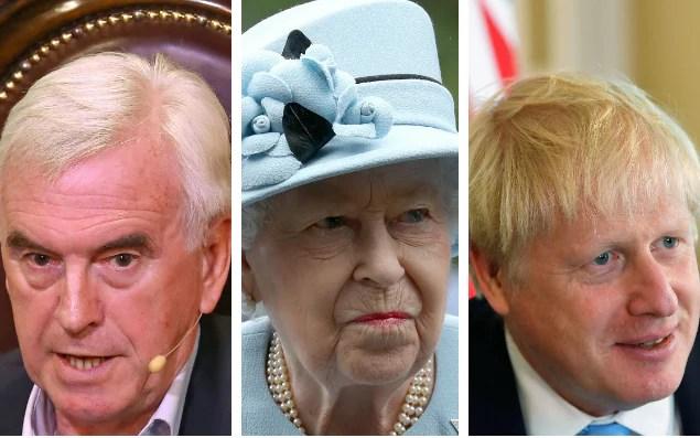 Kanclerz Cienia John McDonnell zaangażowałby Królową, gdyby premier nalegał na pozostanie na swoim stanowisku po wotum nieufności