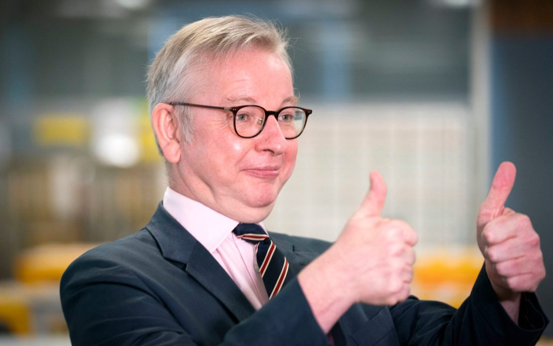 Michael Gove also managed no-deal planning