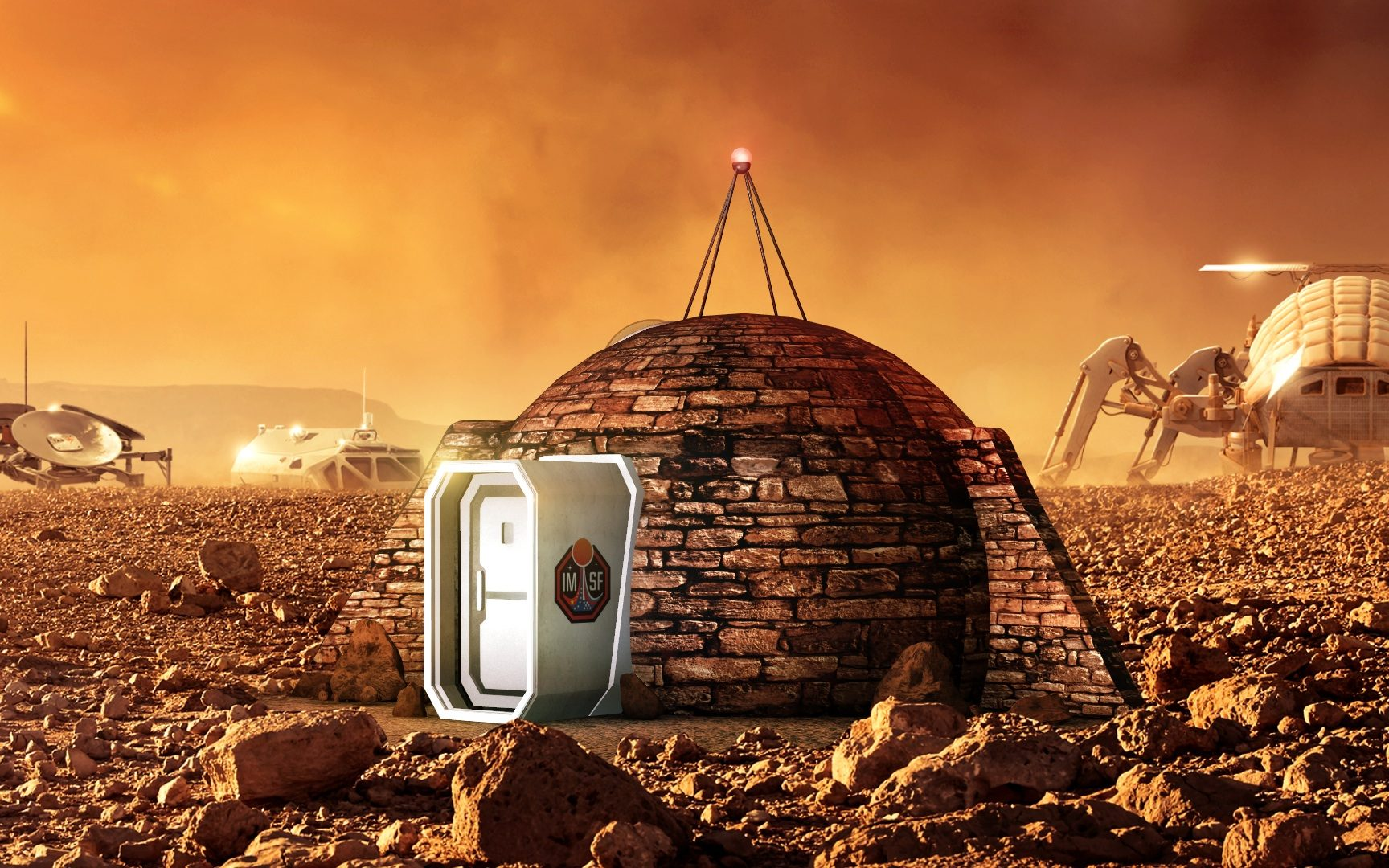 What your home will look like when you live on Mars