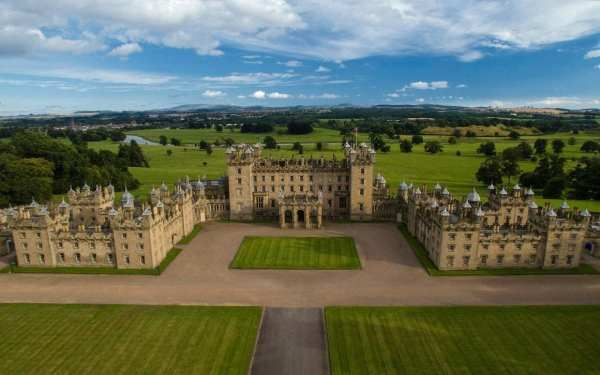 Great Estates: inside the largest inhabited castle in Scotland