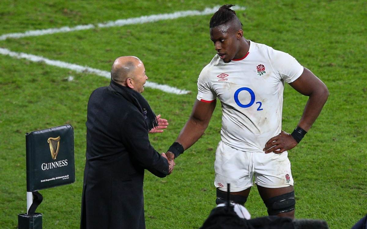 Eddie Jones praised Maro Itoje's performance against France