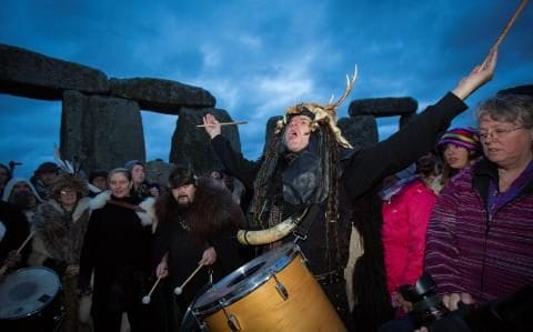 Pagans celebrate the longest day