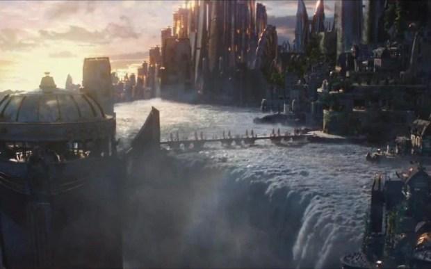 Асгардија од филмот Тор