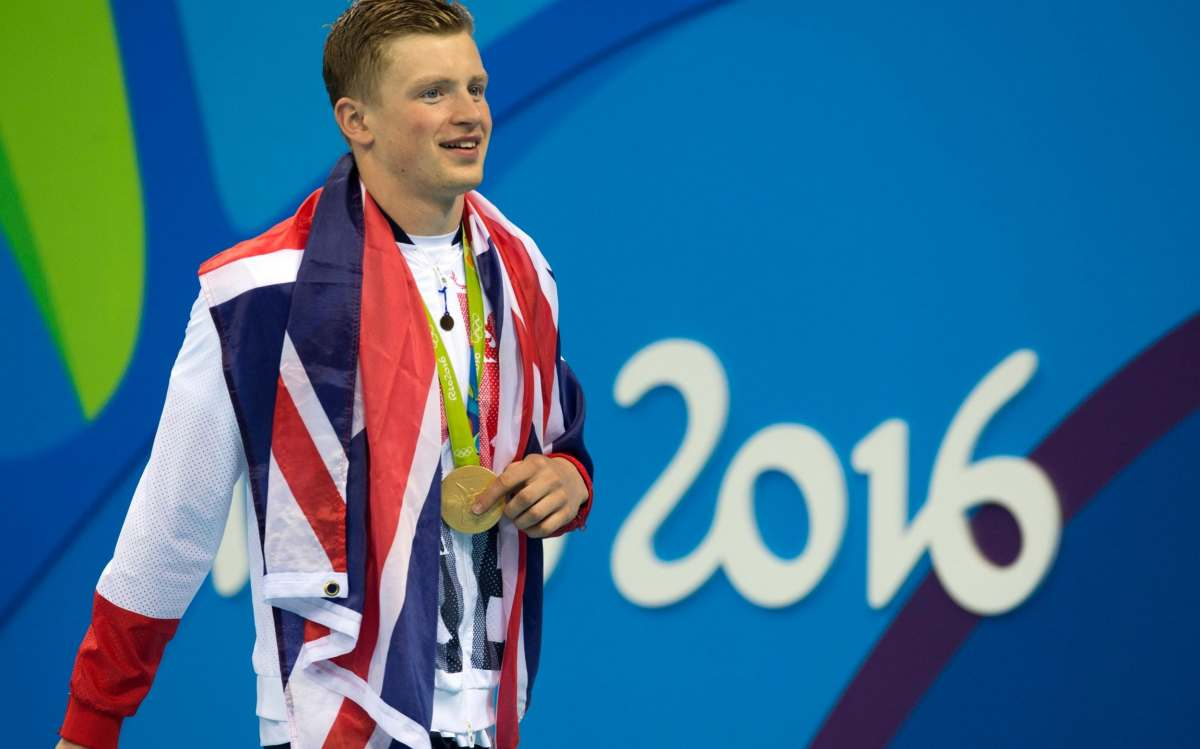 Adam Peaty begins the defence of his men's 100m breaststroke title in Saturday's heats session
