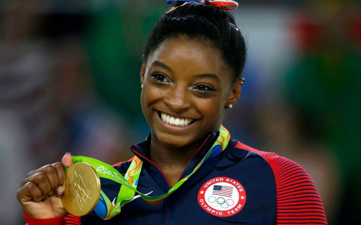 Simone Biles will look to add to her Olympic medal collection alongside her USA team-mates in the women's team final