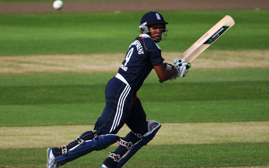 Ebony Rainford-Brent was England's first black woman cricketer