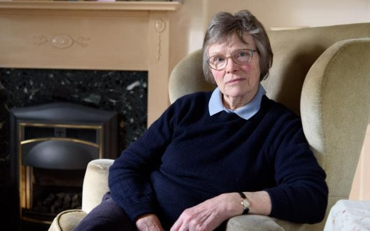 Susan Scott at her home in Scurton, North Yorkshire