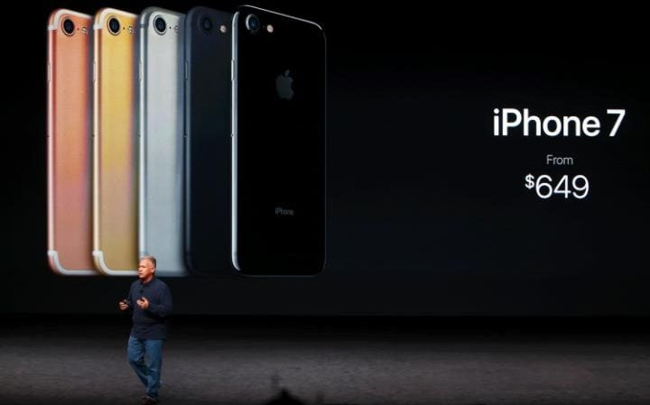 The iPhone 7 and 7 Plus will be available in five colours