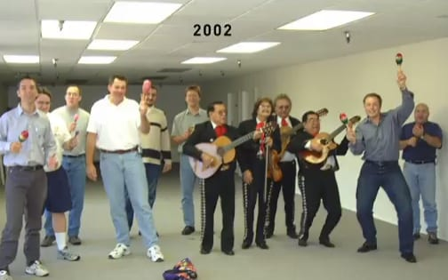 SpaceX's offices when it launched in 2002