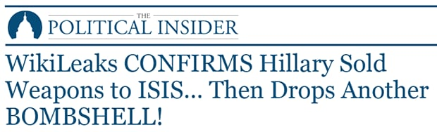 Political Insider headline