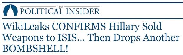 Political Insider headline