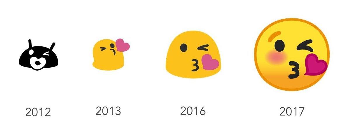 Google has redesigned its emoji