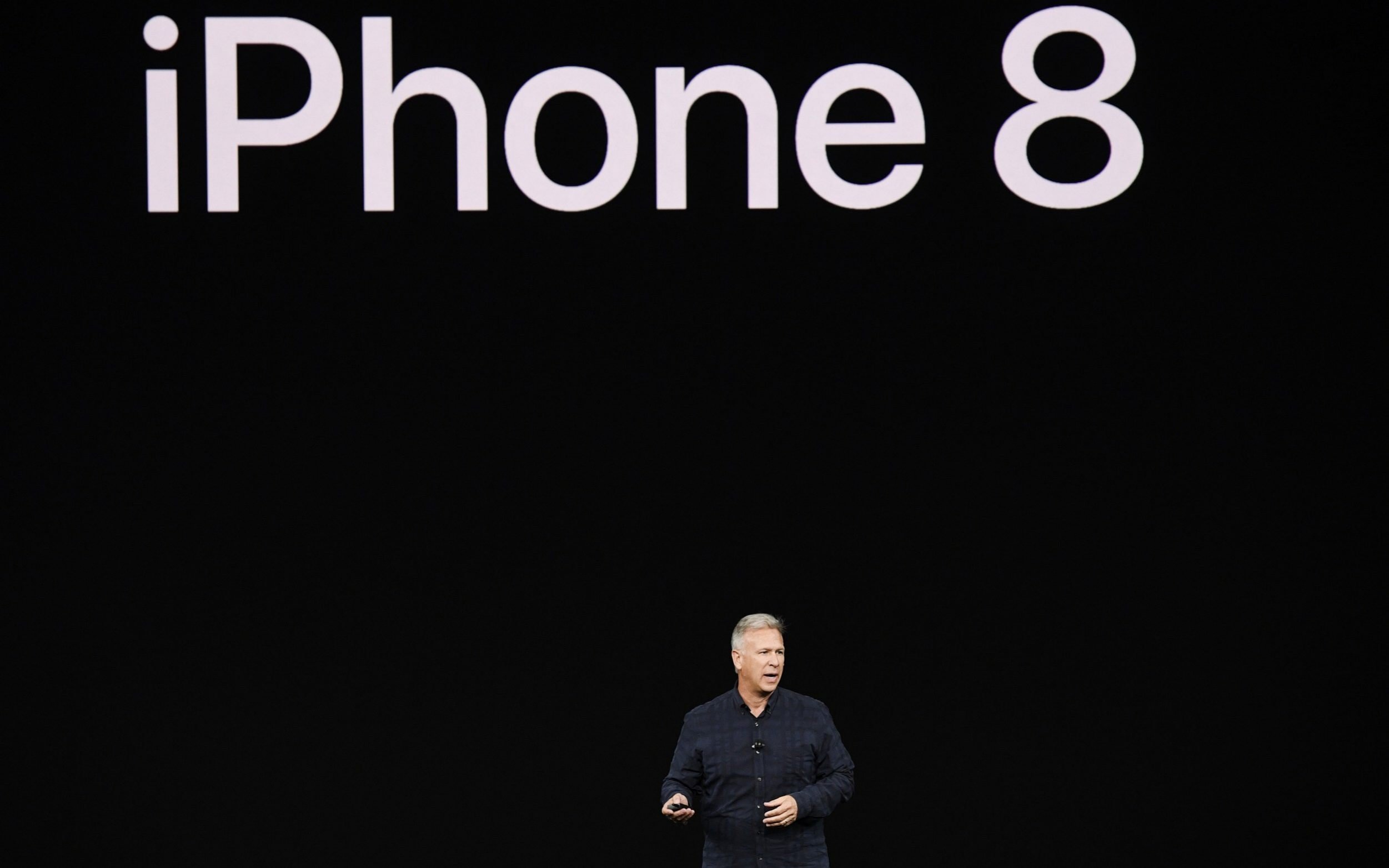 Phil Schiller at the launch