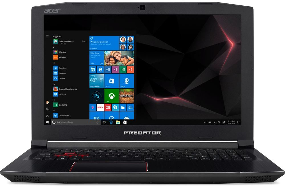 gaming laptop acer predator
