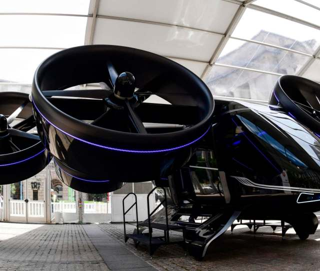 Ubers Revealed That The Bell Nexus Concept Vehicle Will Be Joining Its Helicopter Fleet At The Elevate Conference In Washington This Week Credit Afp