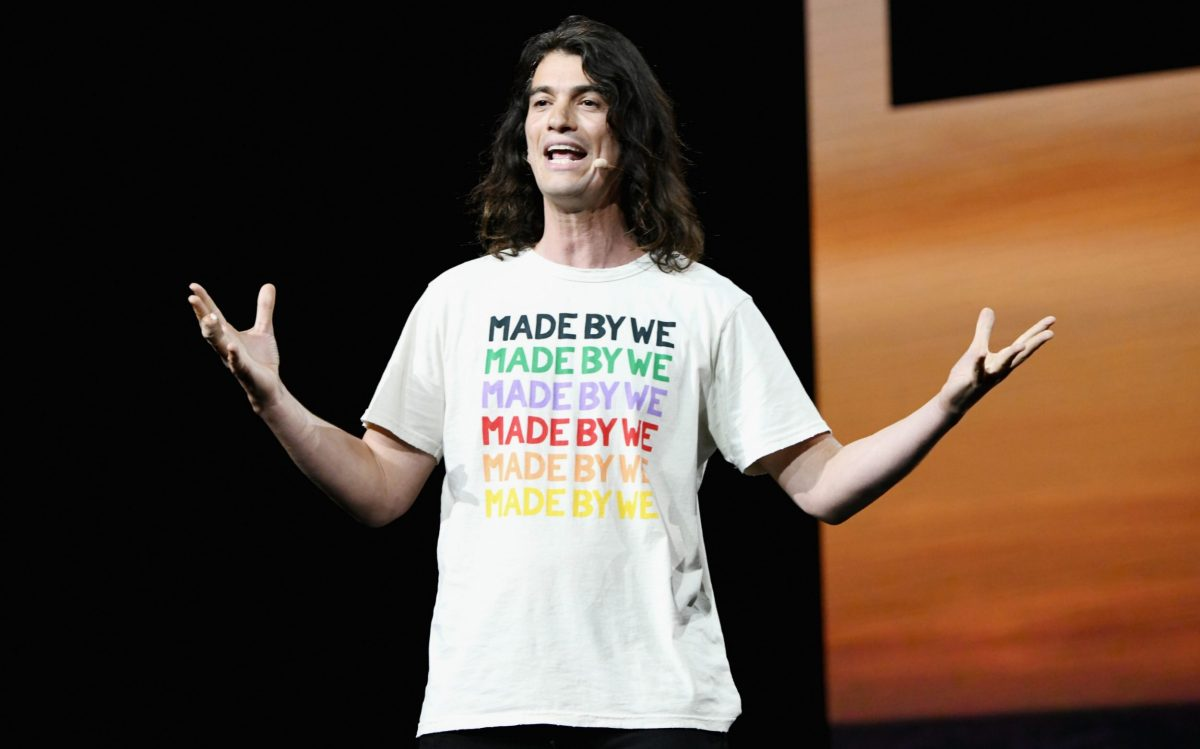 Adam Neumann speaks onstage during WeWork Presents Second Annual Creator Global Finals at Microsoft Theater in 2019