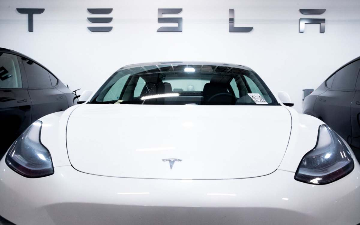 Tesla has halted some of its production line in California