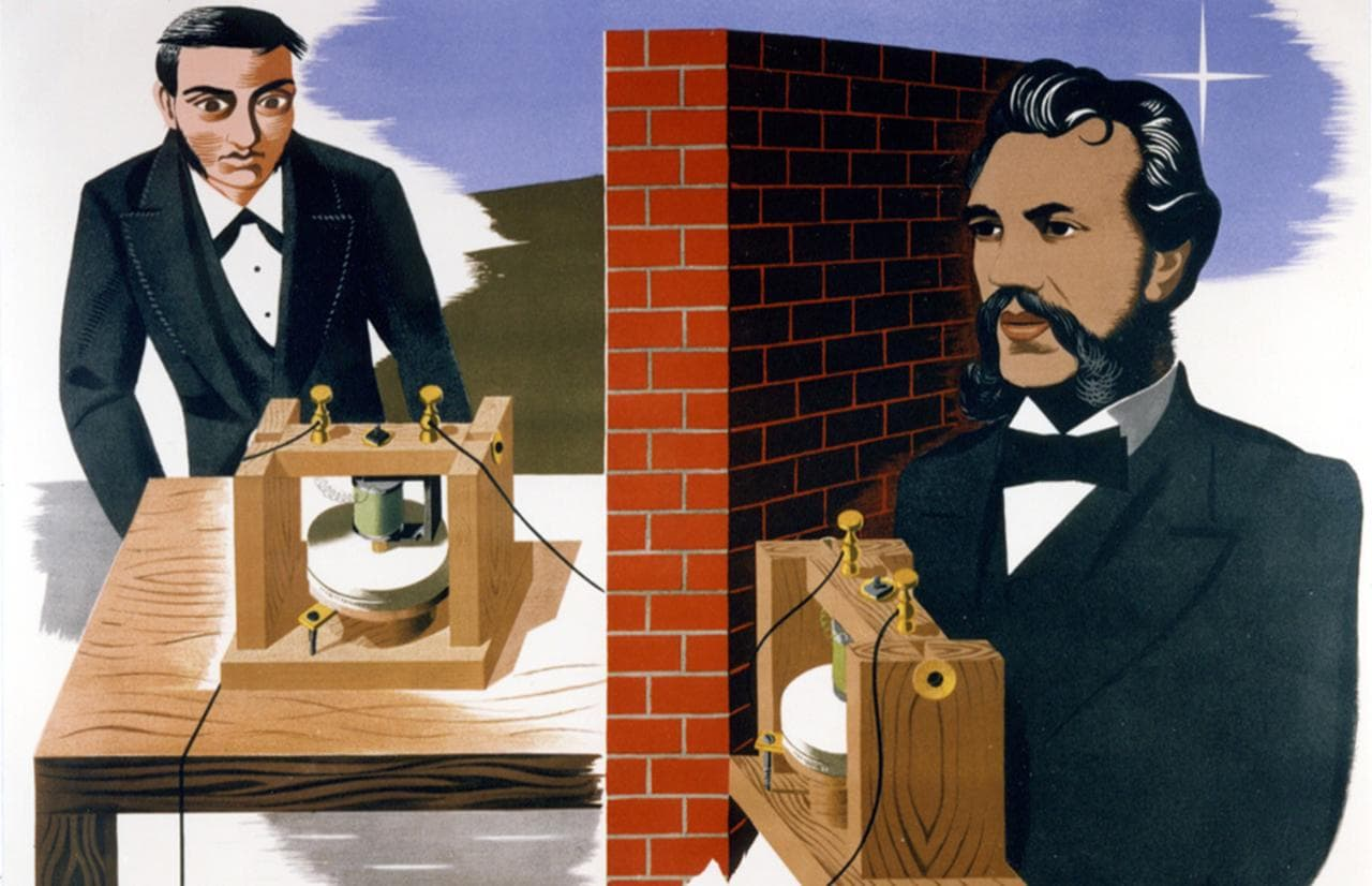 When Alexander Graham Bell Filed The First Patent For The