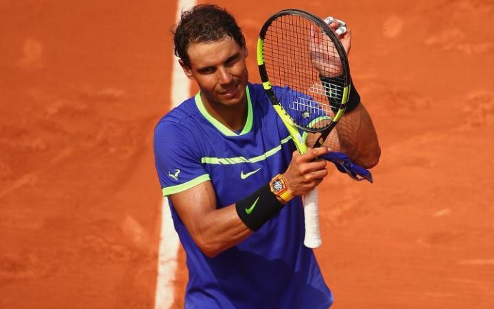 Image result for rafael nadal 2017 french open