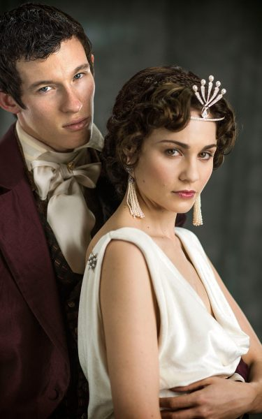Andrew Davies interview   I wish I had made War and Peace longer  Callum Turner and Tuppence Middleton as Anatole and Helene Kuragin in War  and Peace