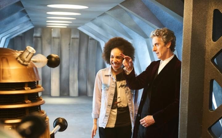 All-new double act: Pearl and the Doctor