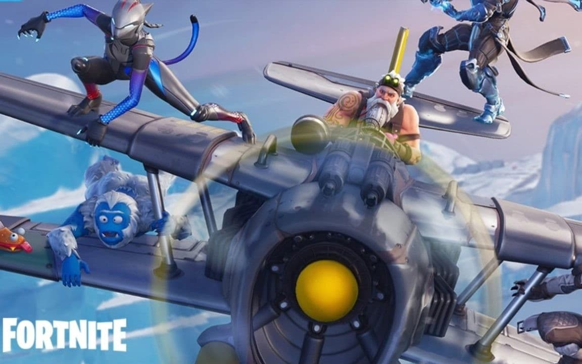 Fortnite Season 7 Live With New Planes Ziplines Custom