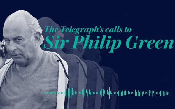 Sir Philip Green: Listen to the phone call threats the ...