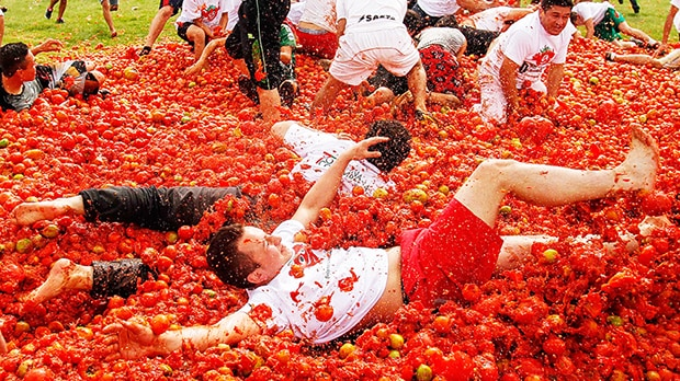 Image result for La Tomatina