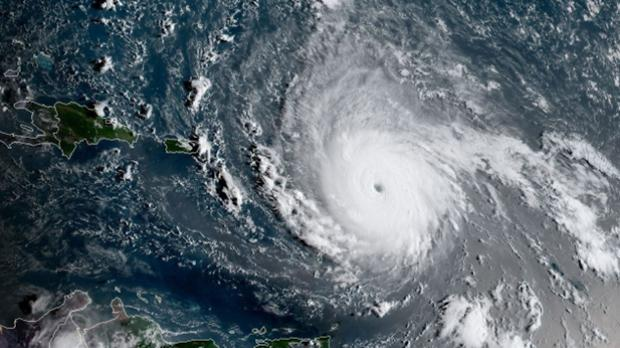 Image result for Hurricane Irma hits the Caribbean