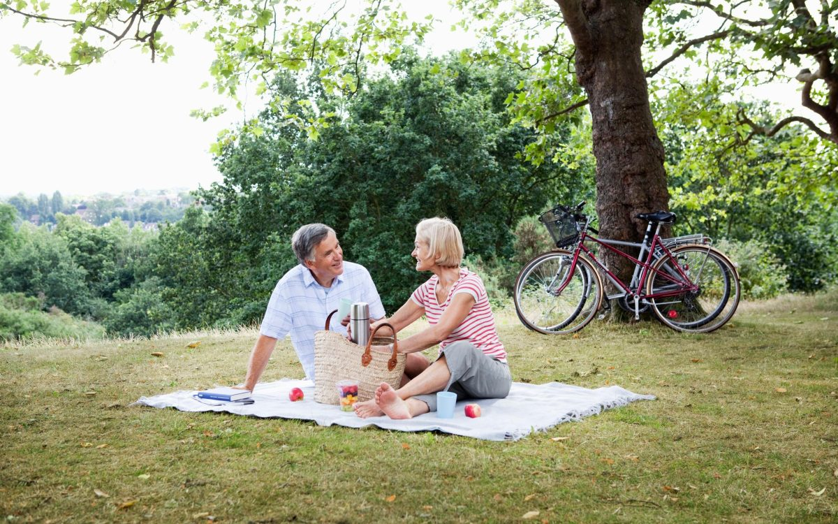 Extravagant holidays may be out of the picture, but there's always the option of a picnic in the park