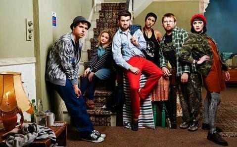 The cast of Channel 4's university-themed sitcom Fresh Meat
