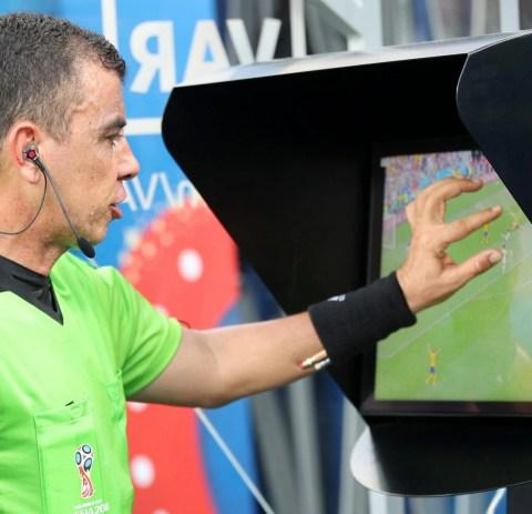 Image result for sweden penalty var world cup