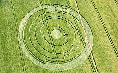 Wiltshire crop circle
