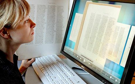 The ancient word online