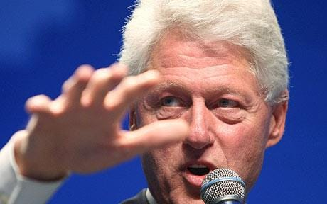 Bill Clinton's reluctance to endorse Barack Obama warmly as the next president is causing jitters