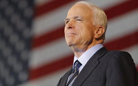 John McCain takes the lead over Barack Obama in the latest opinion polls