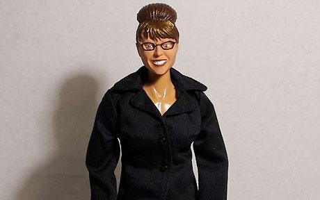 The Sarah Palin executive doll