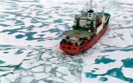 The expedition to plant a Russian flag on the seabed beneath the ice of the North Pole