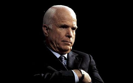 John McCain - Republican fears of historic Obama landslide unleash civil war for the future of the party
