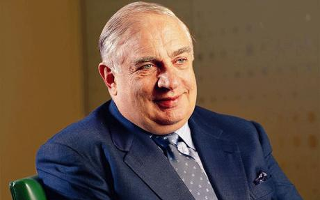 BP chairman Peter Sutherland.