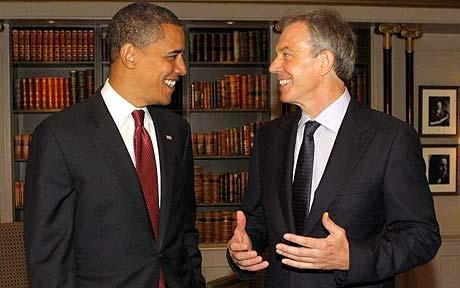 Blair claims Obama ready for Middle East peace as Rice makes final summit trip