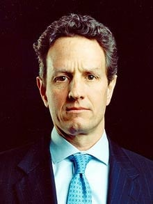 Barack Obama has handed the levers of the US economy to Timothy Geithner.