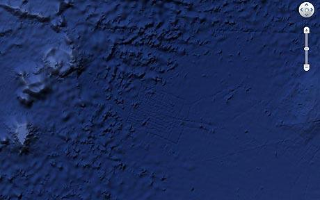 Google Ocean: Atlantis 'found off Africa' turns out to be boat mapping lines