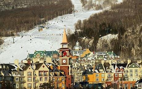 Canada, Quebec, Mont Tremblant Ski Village: Natasha Richardson skiing accident: Mont Tremblant - eastern Canada's premier ski resort