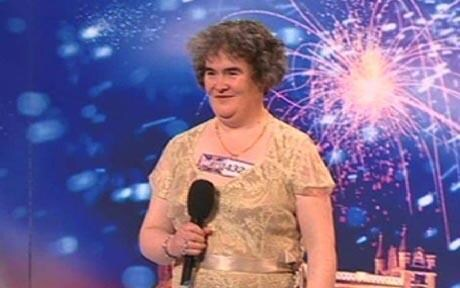 Susan Boyle on Britains Got Talent